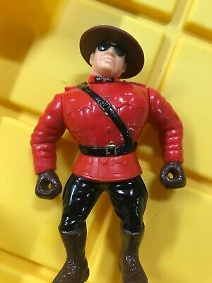 wwf Hasbro the Mountie good condition action works clean figure WWE Fabulous