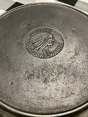 Wapak Hollow Ware Number Six Cast-Iron Frying Pan