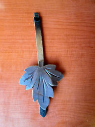 Vintage Maple Leaf Cuckoo Clock Pendulum 7 (693C)