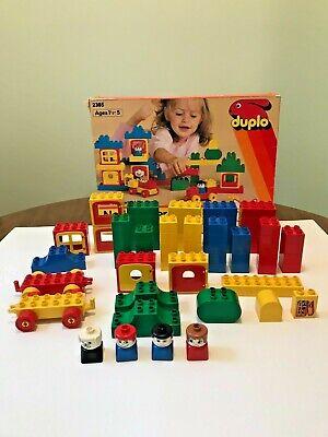 Vintage 1986 Lego Duplo Set 2385 Complete 75 pcs