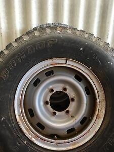 Nissan Patrol rims and tyres Mirrabooka Stirling Area Preview