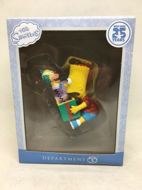 The Simpsons Dept. 56 Bart
