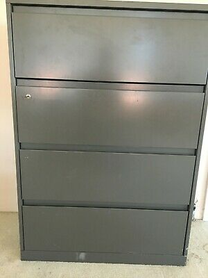 Lateral Metal File Cabinet 4 Drawers