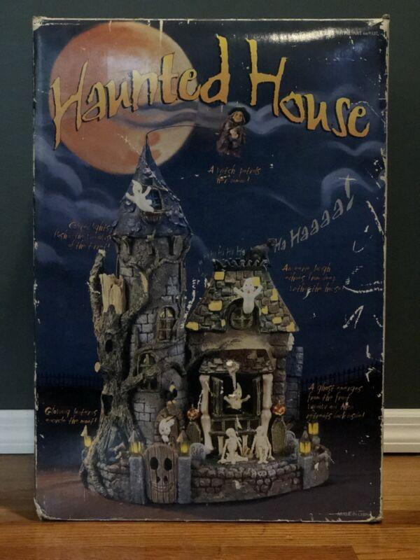"Costco Haunted House Halloween Animated Sound Lights 19"" Hocus Pocus Thriller"