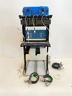 Yamazen W-prep 2xy Parallel Frac Fr-260 Dual Channel Flash Chromatography System