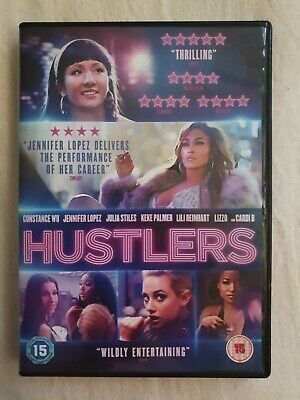 Hustlers - Jennifer Lopez - DVD