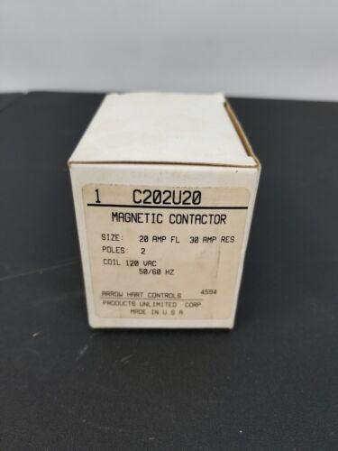 Arrow Hart Magnetic Contactor C202U20 New Old Stock