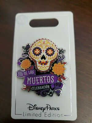 Disney Parks Pixar Coco Dia De Los Muertos Day Of The Dead Pin LE 5000