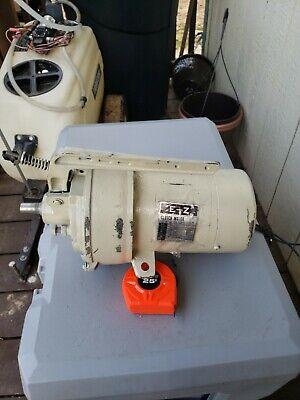 E-z Clutch Motor M-12 N 12 Hp 3 Phase 220 Vac 28603450 Rpm M-12 N Used