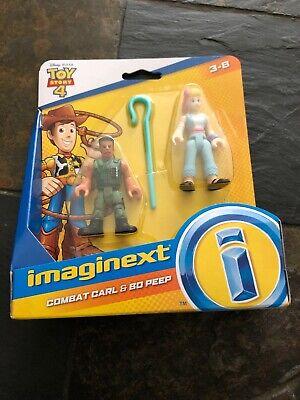 Imaginext Toy Story 4 Combat Carl & Bo Peep 2-Figure Set