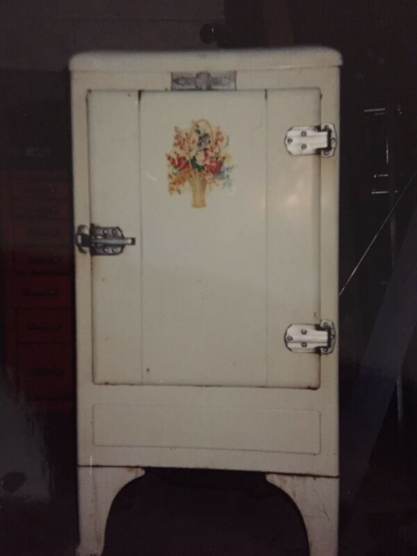 Vintage Antique 1934 Refrigerator by General Motors - Certified