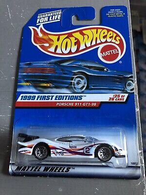Hot wheels Porsche 911 GT1 98