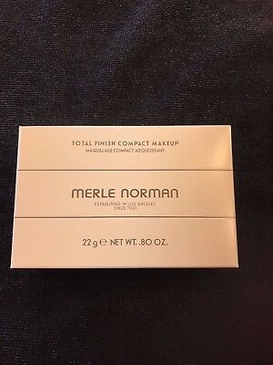 Merle Norman Total Finish Compact Makeup    Award Winning Multiple Color Options