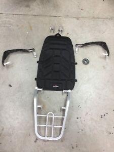 XT 250 Yamaha Parts Package , Back Rack ,  Handgaurds