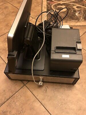 Toast Elo 15 Pos Terminal Complete Bundle Tablet Printer And Cash Drawer