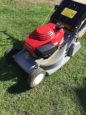 "Honda HRB423 17"" Self Propelled Lawn Mower - Steel Roller - Good Working Order"