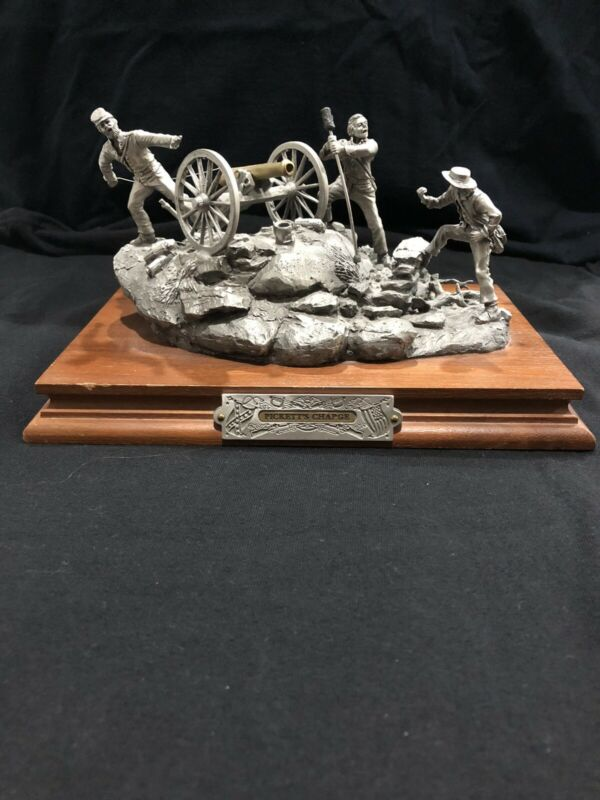 chilmark pewter civil war Pickett's Charge#1817/2500 Limited Edition By Barnum