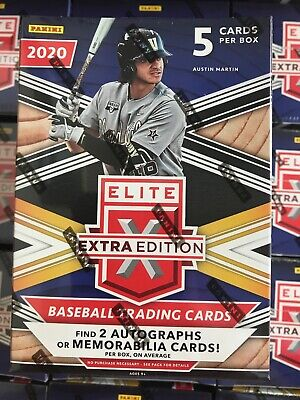 2020 Panini ELITE EXTRA EDITION Blaster Box - New Sealed - 2 autos or Jersey RC