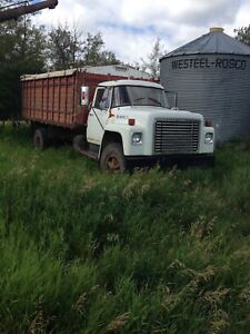 1978 International grain truck