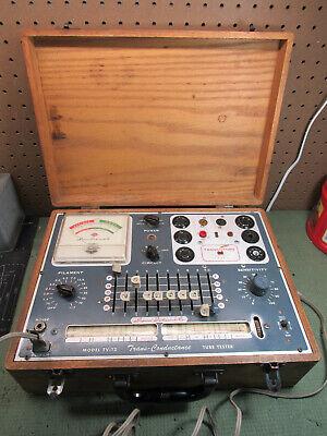 Superior Instruments Tv-12 Trans-conductance Vacuum Tube Transistor Tester