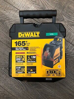 Dewalt Dw088k 165 Ft. Red Self-leveling Cross-line Laser Level