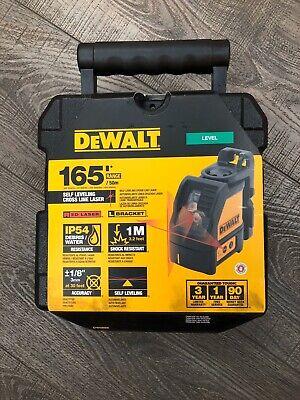 DEWALT DW085K Self Leveling 3-Beam Cot Plumb /& Level Laser Pointer w//Case *NEW*