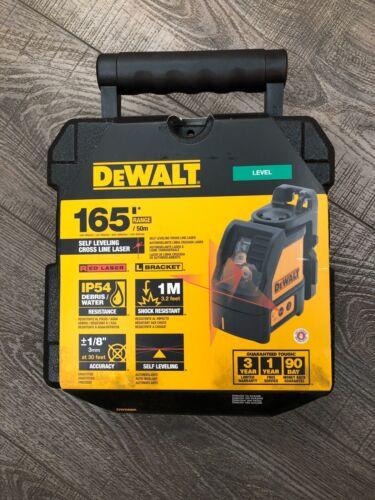 DEWALT DW088K 165 Ft. Red Self-Leveling Cross-Line Laser Level - $114.99
