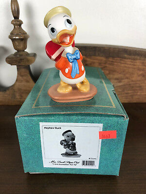 WDCC Mr. Duck Steps Out Nephew I Got Somethin' For Ya Disney Classics Box & COA