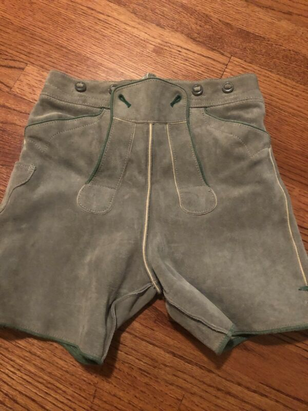 Lederhosen Child/XSmall Women- Heavy Suede!