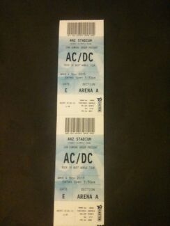 AC/DC Tickets Narrabundah South Canberra Preview