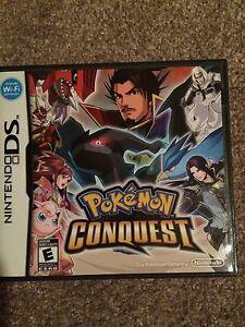 Pokemon Conquest DS Game