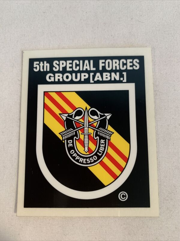 US Army 5th Special Forces Group (ABN) Decal Sticker