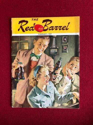 "1947, Coca- Cola, ""The Red Barrel"" Bottling Company Magazine  (Scarce / Vintage)"