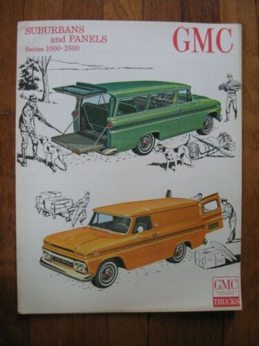 1963 GMC Suburban Panel Truck Brochure ORIGINAL