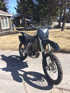 2009 YZ450f special edition!