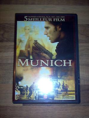 Film DVD Munich ( Oscar ) 2005 FR (Un Spielberg captivant & nuancé) Comme Neuf