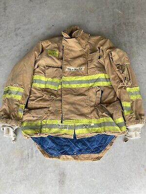 Firefighter Honeywell Morning Pride Turnout Bunker Coat 42 Chest X 33 Length Use