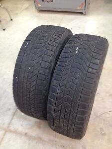 2 Firestone Winterforce 245/65/17 tires