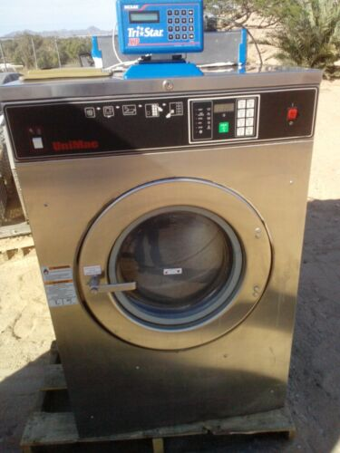 Unimac  Washer 40 lb  Capacity with Automatic Detergent Dispenser System L@@K