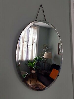 Vintage Deco Wall Mirror