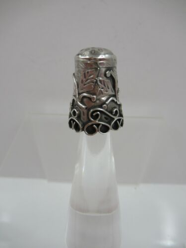 Vintage TAXCO Mexican 925 Hallmarked STERLING Thimble