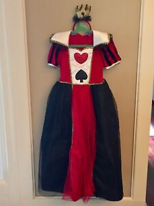 Size 7/8 Queen of Hearts Costume