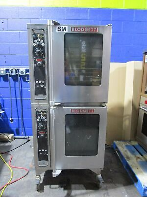 BLODGETT HV-50 ELECTRIC DOUBLE STACK HALF SIZE HYDROVECTION CONVECTION OVEN