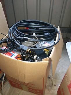 aV cable grab box. RCA HDMI DVI coax tc