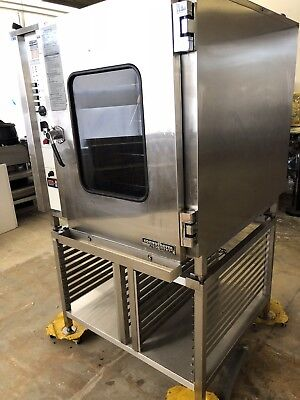 Alto Shaam Electric Combi Combitherm Oven Steamer Hud 10.18 Convotherm Used