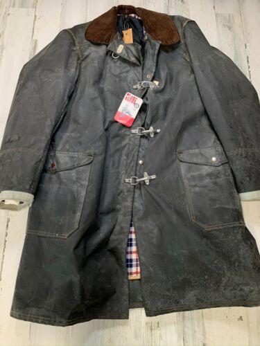 Vintage Globe Firefighter Flame Resistant Jacket Size 44 Large