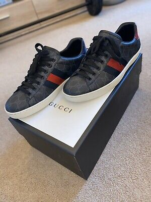 GUCCI Ace GG Supreme sneaker SIZE Uk 7 Worn Once