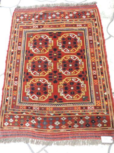 4x5ft. Handmade Afghan Khal Muhammidity Tribal Wool Rug