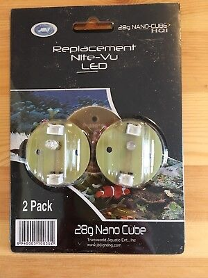 New*JBJ Replacement Nite-Vu LED for 28G Nano-Cube*28 Gallon Aquarium/Tank*Night