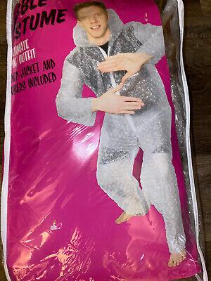 Bubble Wrap ~ Halloween Costume Adult Men's Hooded Jacket Pants ~ One Size